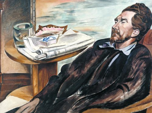 Ezra Pound 1939 Wyndham Lewis 1882-1957 Purchased 1939 http://www.tate.org.uk/art/work/N05042